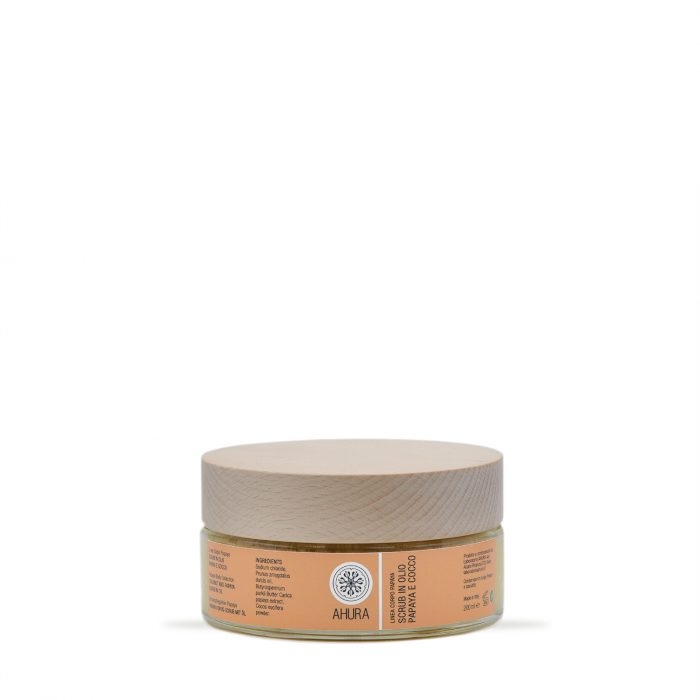 A0253 scrub olio papaya cocco 01 - Ahura