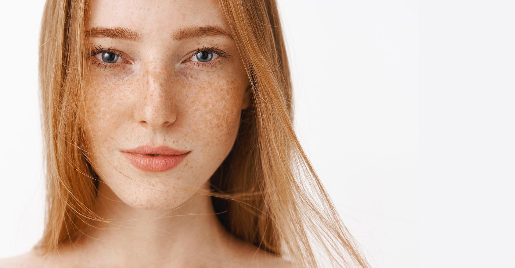 Pelle del viso sensibile e delicata